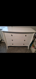 Next White chest of drawers
