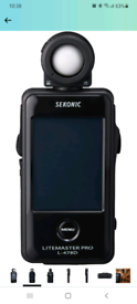 Sekonic's LITEMASTER PRO L-478D brand new
