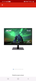 Acer 27 Inch Monitor and Proper Swingarm Deskmount