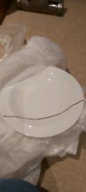 Denby Urban Tea Plate x6