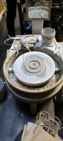Quality Cowley double drive electric potters wheel mark II. Used once.