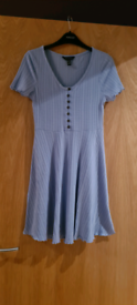 Size 10 Blue Dress (ONLY WORN ONCE)