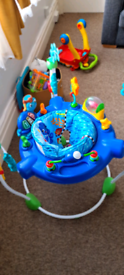 Jumperoo Bouncer Jumping Baby Toy Activity Music Sounds