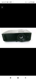 Optima 1080p HD Projector and screen
