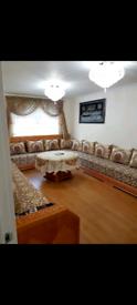 Moroccan sofas - solid oak