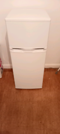 WHITE FRIDGE FREEZER. ( 4 MONTHS OLD )