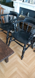 Admiralty chairs.