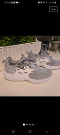 Nike presto trainners size 6 grey and white