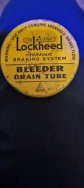 Lockheed Tin with Bleeder tube