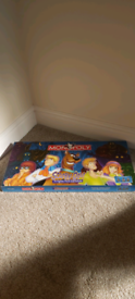 Scooby-Doo Freight Fest Edition Monopoly
