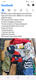 Huge bundle boys clothes 18-24mth