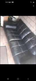 Black Italian sofa