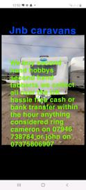 Wanted caravans