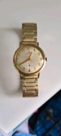 Zenith 9ct Gold Watch