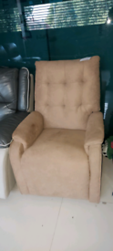 Brown Armchair Recliner free local delivery