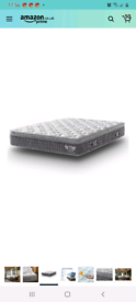 ANGEL QUEEN 5FT King Size 4D Breathable Fabric Mattress Pocket Sprung RRP £320