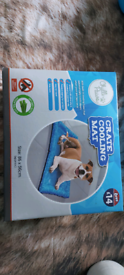 Dog crate cooling mat