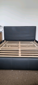 Double Sized Leather Bed