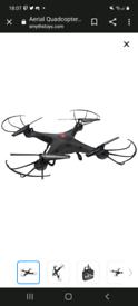 Lost black drone ip3