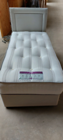 Single bed Mattress with head board