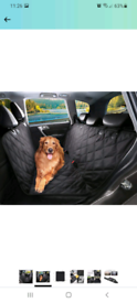 Seat cover for dog brand new unused