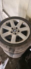 Bmw alloy wheels 5x120, fit vivaro van