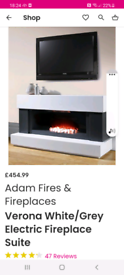 Electric FIREPLACE SOLD