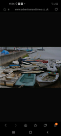Boats and dinghys wanted
