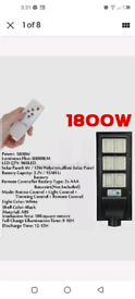 Super Bright LED Street Light Wall Solar Powered Road Lamp Motion Path