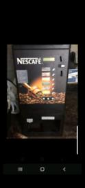 Nescafé hot drinks/coffee dispenser.