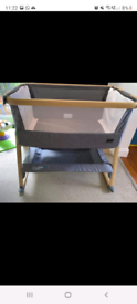 Tutti bambini cozee air bedside crib