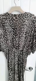 Leopard print dress size 18
