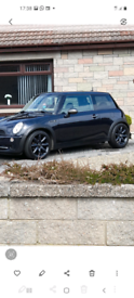 Mini cooper 1.6 black.