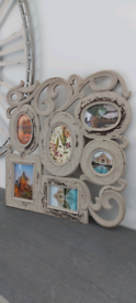 Large ornate wall picture frame