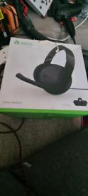 Xbox stereo headphones with adapter pick up Pontardawe