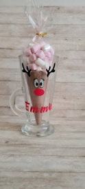 Personalised Xmas Hot Choc mugs