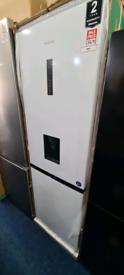 Hisense fridge freezer new with warranty ready to go