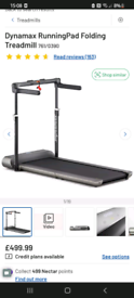 Dynamax Running Pad Treadmill