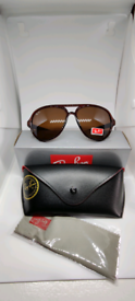 Ray-ban cat 5000 sunglasses brown