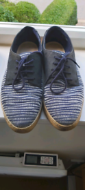 Used Blue Clarks Shoes - Size 6