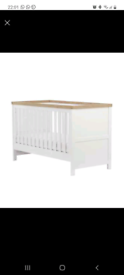 Mothercare cot to cot bed inc mattress