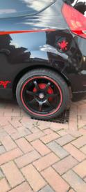 Fiesta mk7 17inch alloys