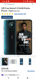 Nokia 5.3 4+64gb Unlocked