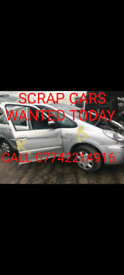 We buy your UNWANTED CARS and VANS for cash