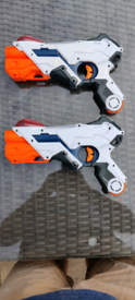 NERF Alphapoint Laser Guns