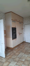 Large selection of kitchen units. Ideal storage for garage or shed