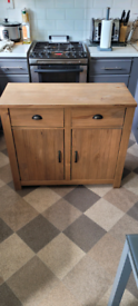 Solid wood sideboard,