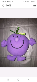 New Mr Men McDonalds Happy Meal Toy - Little Miss Naughty 2000