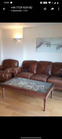 Large Natuzzi Glass Display Coffee Table - Extra Large, Solid Wood
