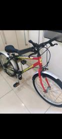 """Boys Falcon bike 6 speed 20"""" wheels age 7-10"""